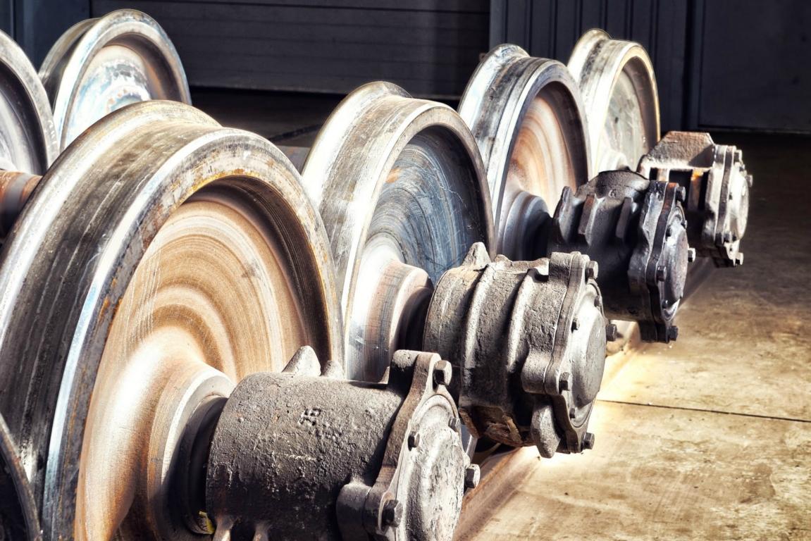 Spare parts - Train Parts: locomotive, wagon, railway, wheel pairs